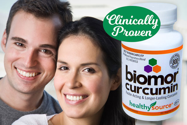 BioMor Curcumin is Patented for Best Absorption, Faster-Acting, Longer-Lasting Curcumin