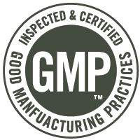 GMP: Good Manufacturing Practices: Inspected and Certified